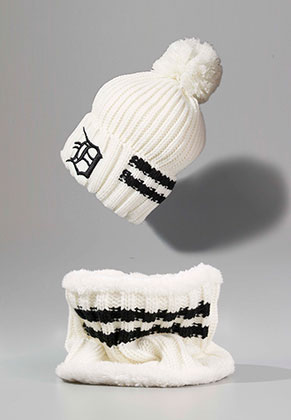 www.misstella.fr - Ensemble de bonnet et echarpe-tube