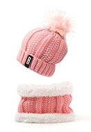 www.misstella.fr - Ensemble de bonnet et echarpe-tube - F06834