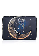 www.misstella.com - Laptop sleeve 13,3 inch with bohemian moon print 34x24x2cm - F06850
