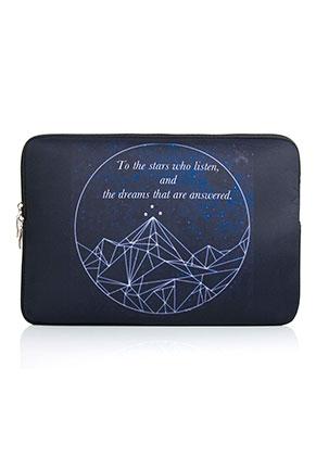 www.misstella.com - Laptop sleeve 15,4 inch with bohemian print 36,5x26x2cm