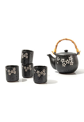 www.misstella.fr - Set à thé en céramique de quatre pièces