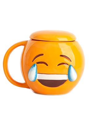 www.misstella.nl - Beker met emoji en deksel