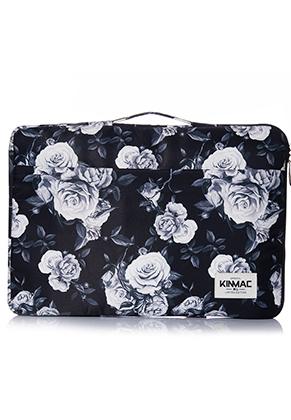 www.misstella.nl - Kinmac laptop sleeve 15,6 inch met rozen 39x27,5x3cm