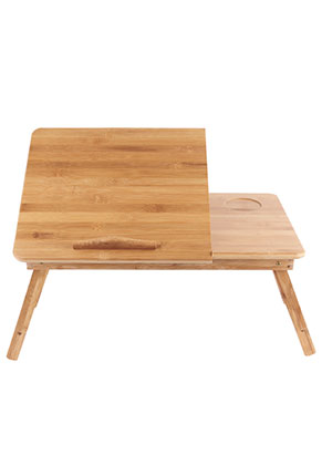 www.misstella.com - Bamboo laptop table foldable 62x30x30cm