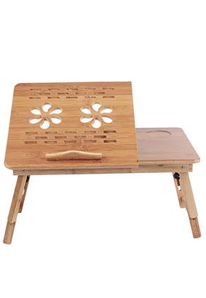 www.misstella.com - Bamboo laptop table foldable 66x35x30cm