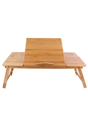 www.misstella.com - Bamboo laptop table foldable 82x35x30cm