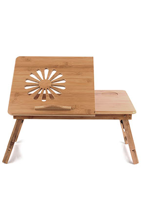 www.misstella.com - Bamboo laptop table foldable 66x35x30cm