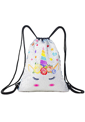 www.misstella.com - Backpack with reversible sequins unicron 40x33cm
