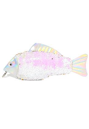 www.misstella.com - Handbag with reversible sequins fish 32x12cm
