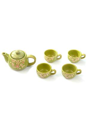 www.misstella.com - Four piece ceramic tea set