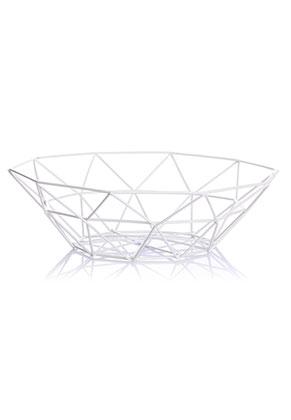 www.misstella.com - Metal fruit bowl 27x8cm
