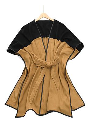 www.misstella.fr - Poncho ouvert/cape 163x117cm