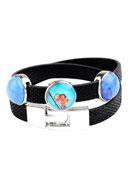 www.misstella.fr - Bracelet wrap avec perles coulissantes 18cm - J04164