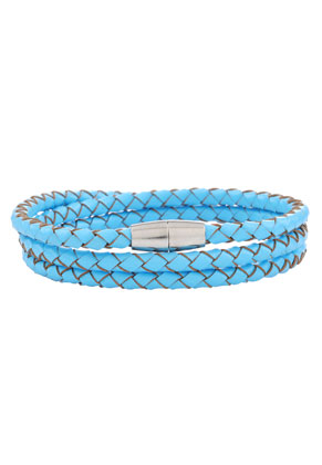 www.misstella.com - Leather wrap bracelet 18cm