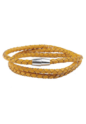 www.misstella.fr - Bracelet wrap en cuir 18cm