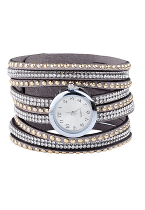 www.misstella.fr - Montre-bracelet avec strass 16-18cm