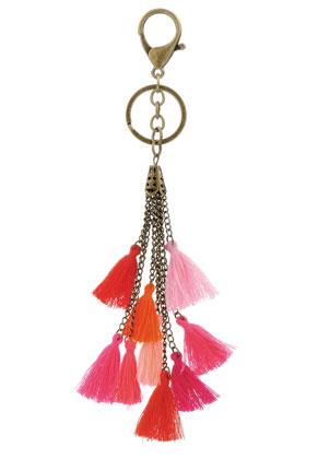 www.misstella.com - Key fob with tassels 22cm