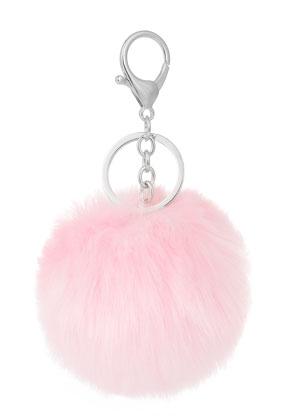 www.misstella.fr - Porte-clés avec boule de peluche