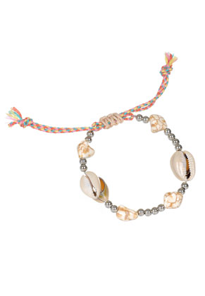 www.misstella.com - Bracelet with shells 18-22cm