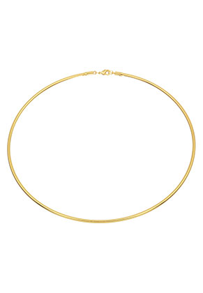 www.misstella.com - Metal neck bangle 43cm (3mm wide)