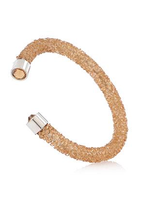 www.misstella.nl - Strass cuff armband 17cm