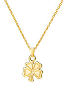www.misstella.com - Necklace with pendant four-leaf clover 45-51cm - J04876