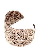 www.misstella.nl - Cuff armband veer 19cm ^ - J05221