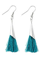 www.misstella.com - Earrings with tassels 60x10mm - J05302