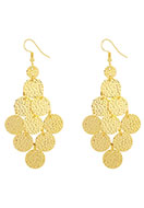 www.misstella.fr - Boucles d'oreille en brass 85x35mm - J05354