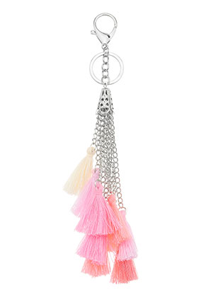 www.misstella.com - Key fob with tassels 22cm