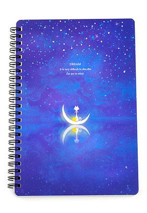 www.misstella.es - Cuaderno de notas con gatito y luna 22,5x15cm