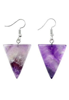 www.misstella.com - Natural stone earrings Amethyst