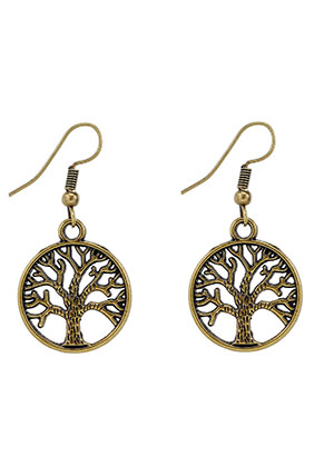 www.misstella.com - Metal earrings tree 40x20mm