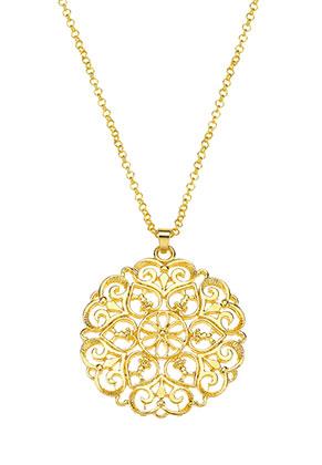 www.misstella.com - Necklace with bohemian pendant 80-85cm