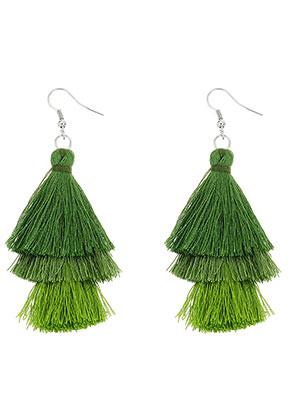 www.misstella.com - Earrings with tassels 80x30mm
