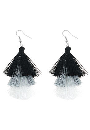 www.misstella.com - Earrings with tassels 80x30mm