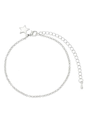 www.misstella.com - Metal bracelet with star 18-24cm