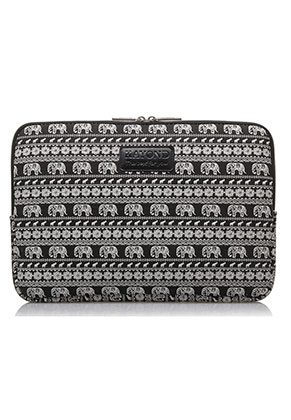 www.misstella.com - Laptop sleeve with elephants 13 inch