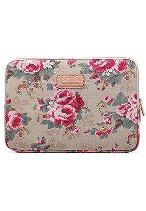 www.misstella.nl - Laptop sleeve 13 - 13,3 inch met bloemen