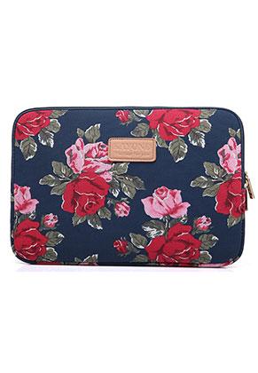 www.misstella.nl - Laptop sleeve 15,4 inch met rozen
