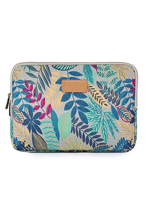 www.misstella.com - Laptop sleeve 15,4 inch with leaves