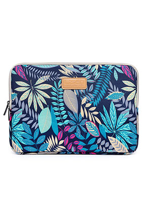 www.misstella.com - Laptop sleeve 15,6 inch - 16 inch with leaves
