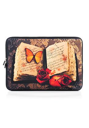 www.misstella.nl - Laptop sleeve 13 inch met boek