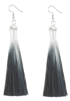 www.misstella.com - Earrings with tassels 11x1cm