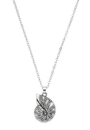 www.misstella.com - Necklace with pendant shell 45-50cm