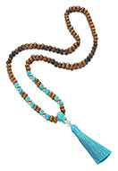 www.misstella.com - Mala necklace with tassel 78cm - J06290