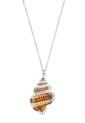 www.misstella.com - Necklace with shell pendant 45-50cm