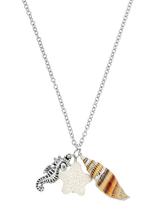 www.misstella.com - Necklace with pendants sealife 60-65cm
