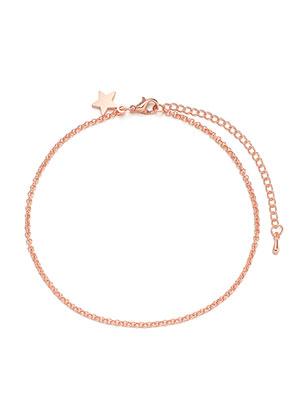www.misstella.com - Bracelet/anklet with star 22-27cm
