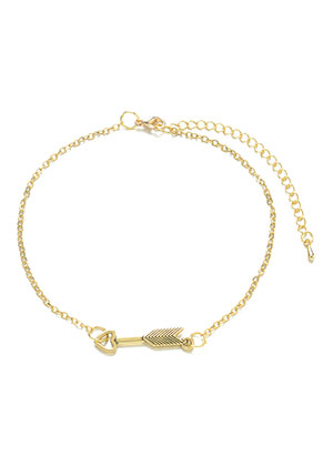 www.misstella.com - Bracelet/anklet with arrow 22-27cm